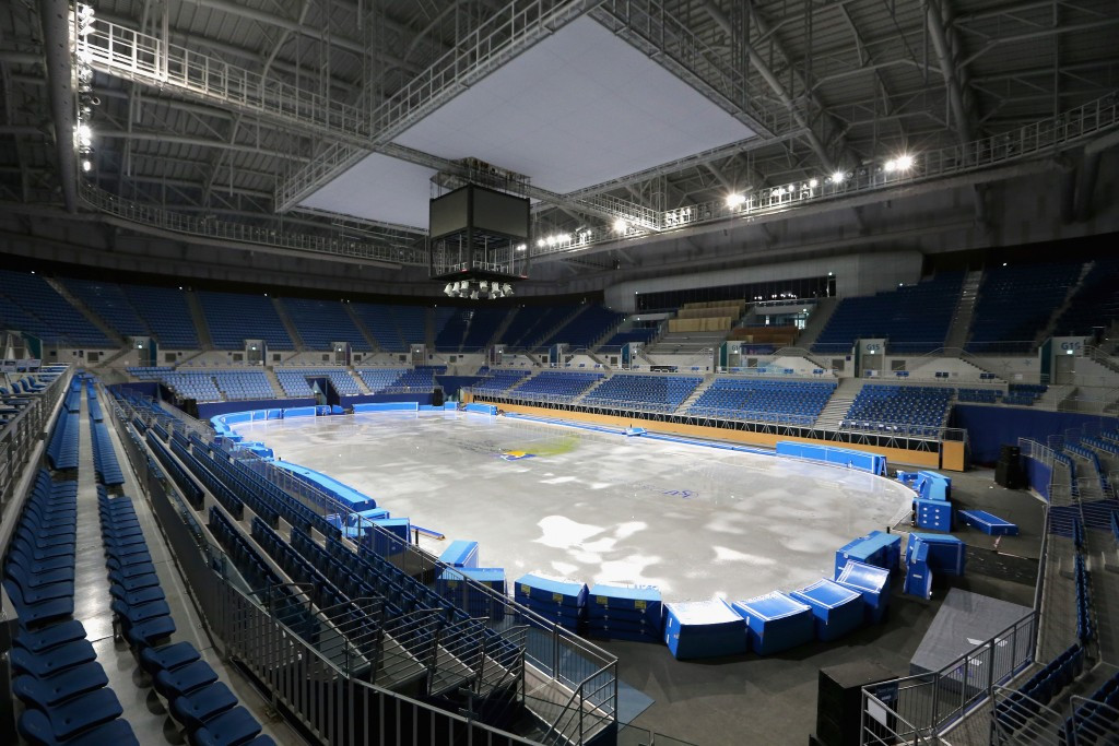 Short track speed skating at Pyeongchang 2018 will be held at the Gangneung Ice Arena ©Getty Images