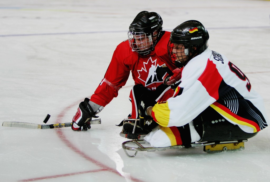 Germany will be hoping to qualify for the para ice hockey tournament for the first time since Turin 2006 ©Getty Images