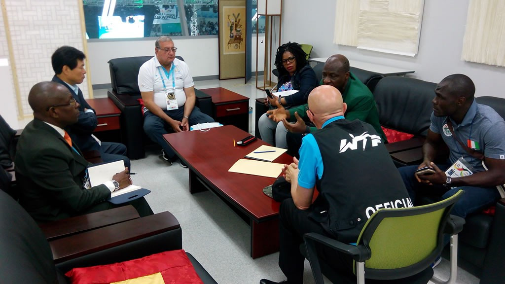WTF hold meeting with Ivorian officials to discuss Grand Prix Final in Abidjan
