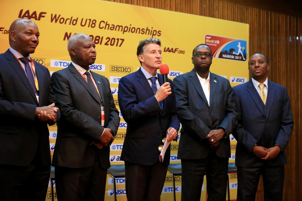 Kenyan Sports Minister Hasan Wario thanked IAAF President Sebastian Coe for his confidence ©Getty Images