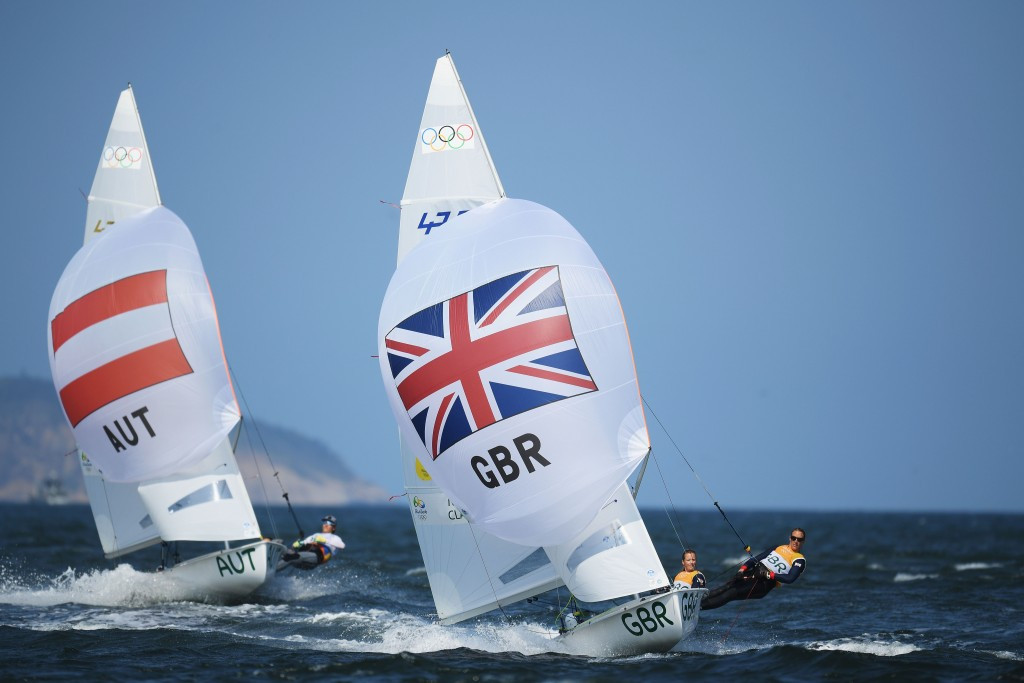 British pair move into outright lead at 470 World Championships