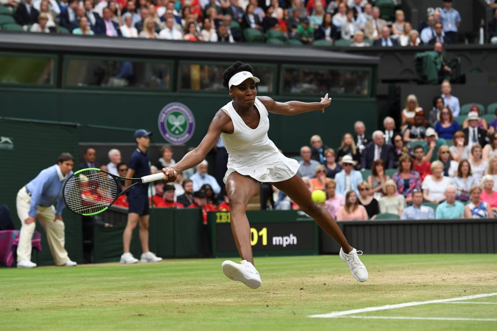 Williams moves step closer to sixth Wimbledon title with impressive win over Ostapenko