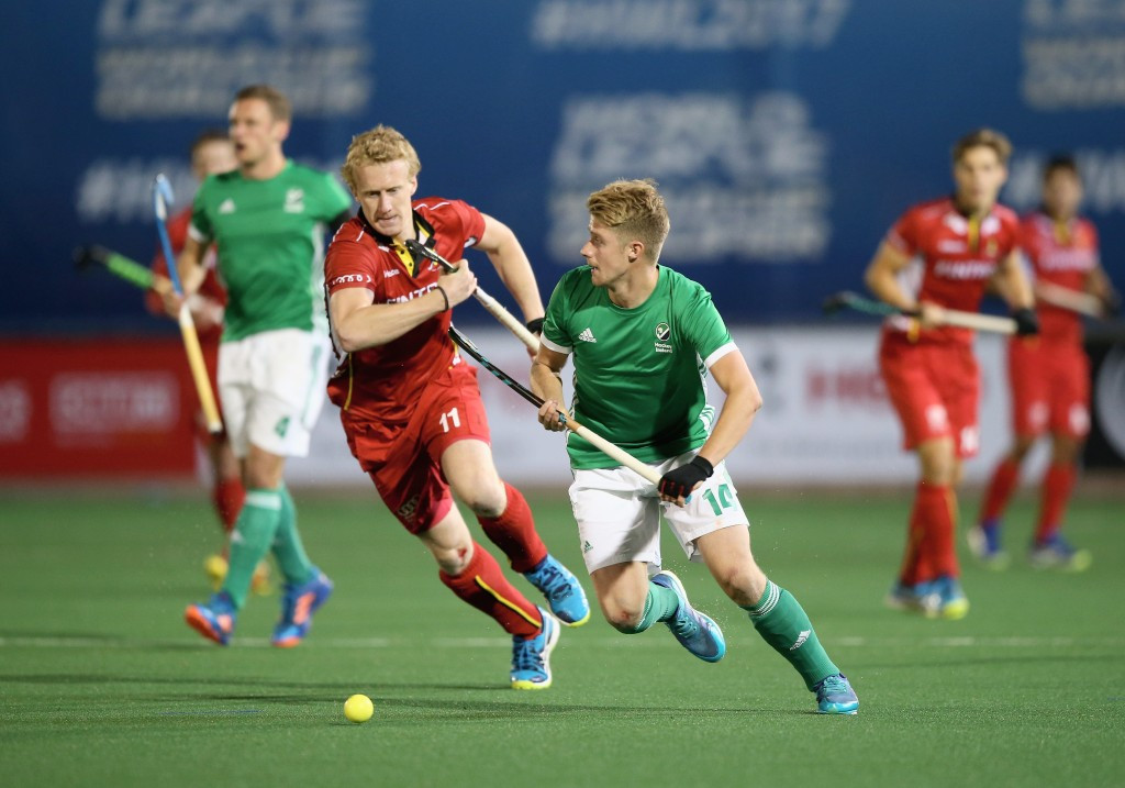 Belgium secure second win at Hockey World League semi-final with victory over Ireland