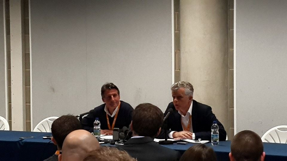Sebastian Coe was speaking ahead of the Sainsbury's Anniversary Games here ©ITG
