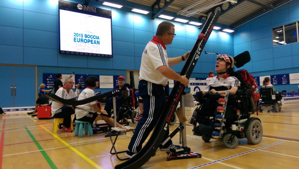 Britain will be hoping to seal Rio 2016 places at the Championships ©GB Boccia