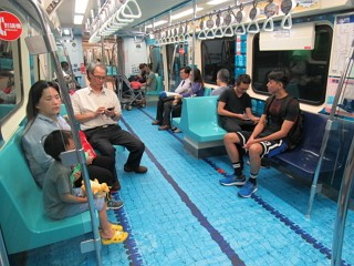 Trains receive Universiade makeover as countdown continues to Taipei 2017