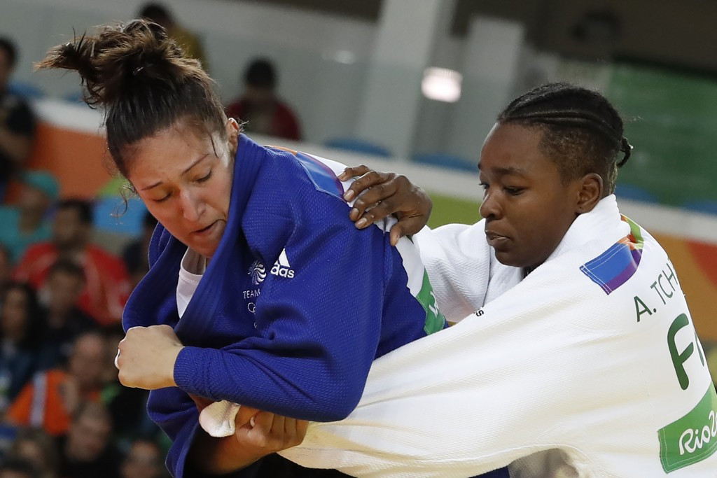 Natalie Powell is the highest ranked of the judokas in the British team ©Getty Images