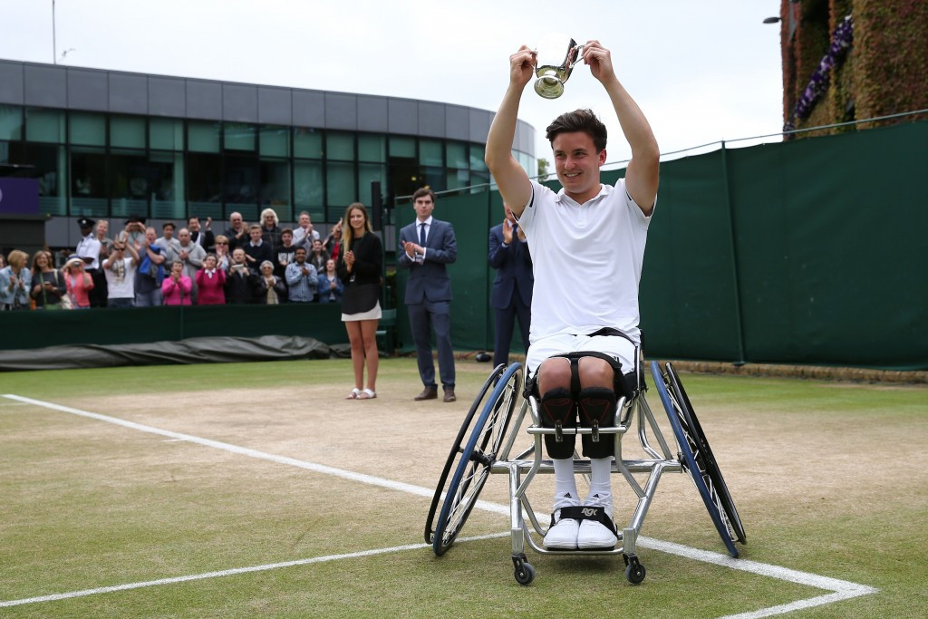 Gordon Reid is aiming to defend two titles at Wimbledon ©Getty Images
