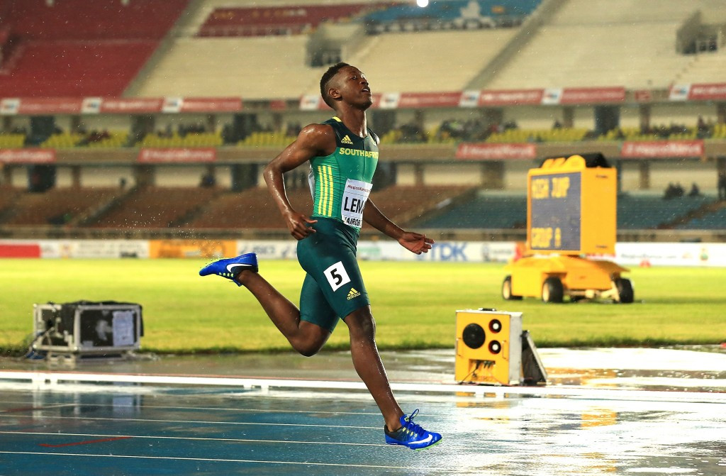 Lemao leads home South African one-two to clinch 100m title at World Under-18 Athletics Championships