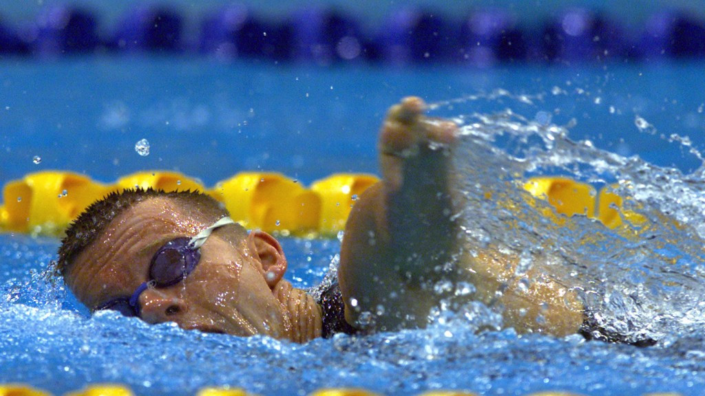 John Petersson pictured during his swimming career at Sydney 2000 ©Getty Images