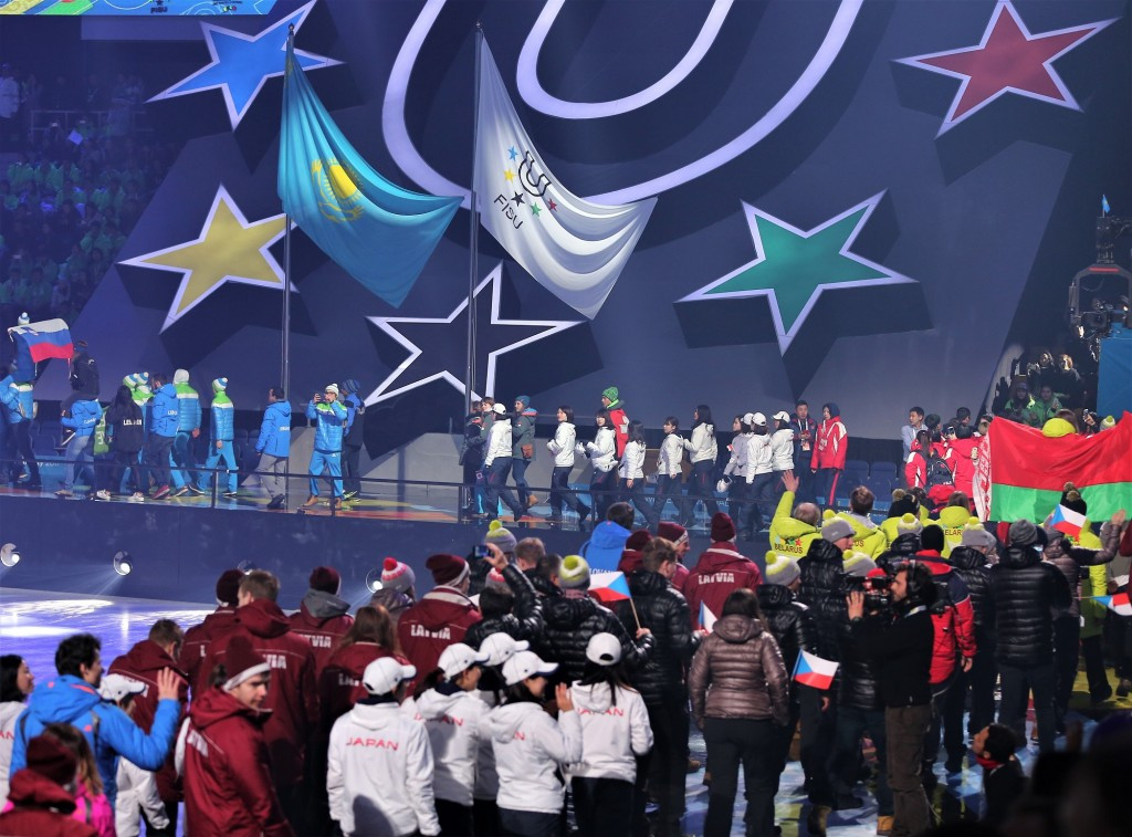 This year's edition of the Winter Universiade took place in Almaty in Kazakhstan ©FISU
