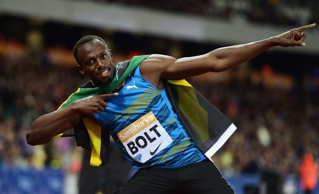 Bolt posts season's best time to win 100m at Sainsbury's Anniversary Games