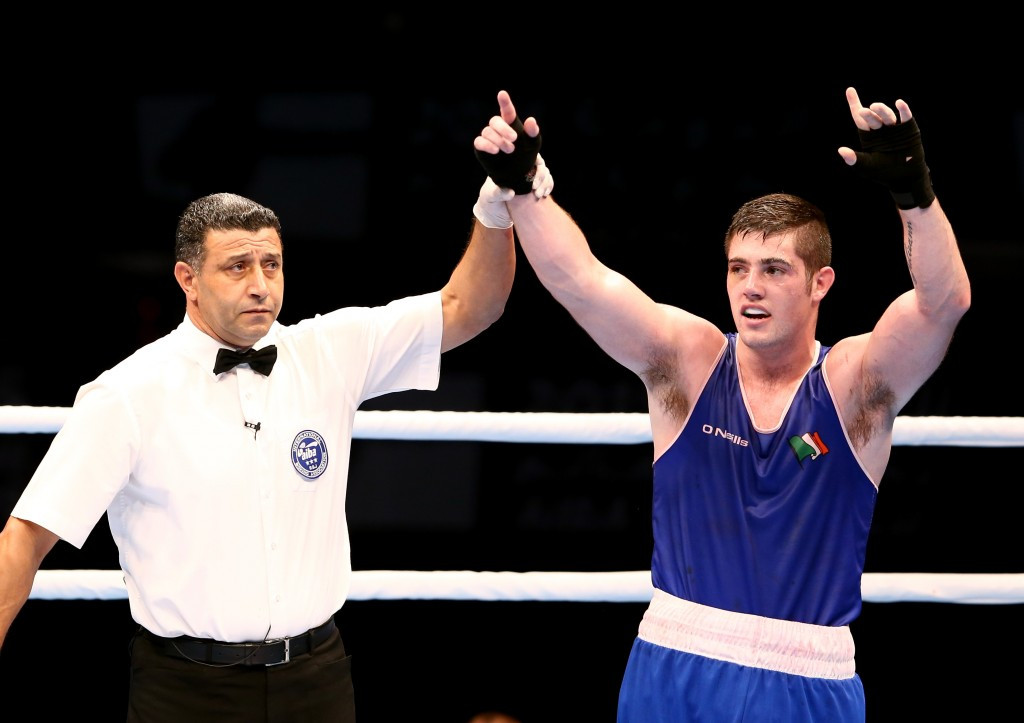 Irish boxer Ward targets Tokyo 2020 following decision to remain amateur