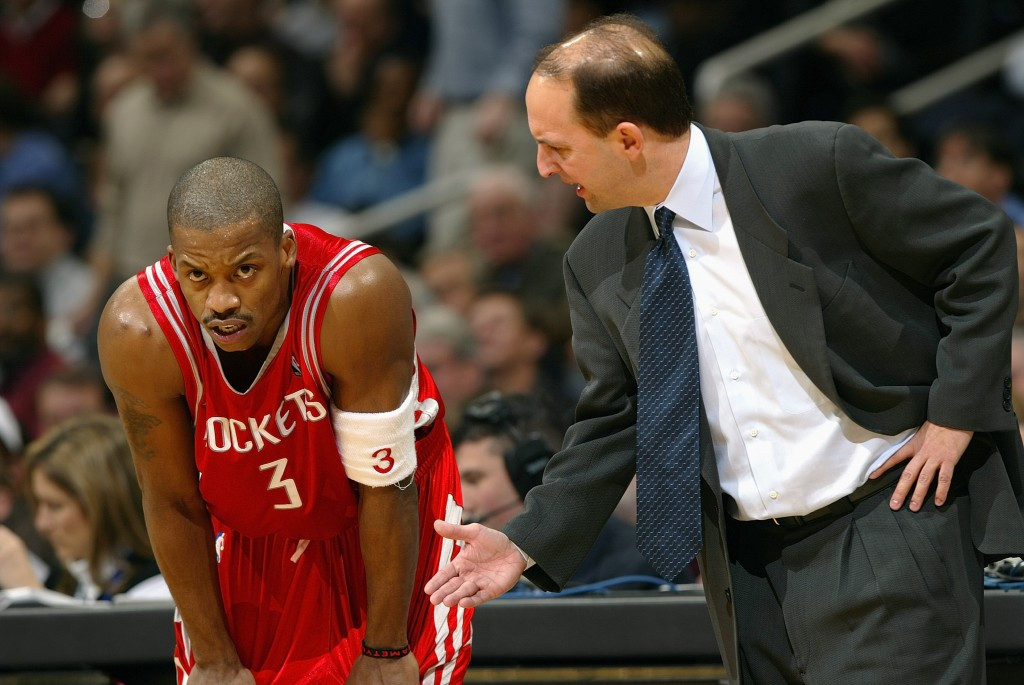 Jeff Van Gundy coached the Houston Rockets from 2003 to 2007 ©Getty Images