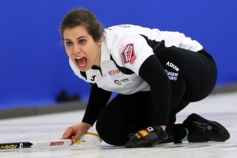 Garcia targets Spanish curling growth after attending WCF courses