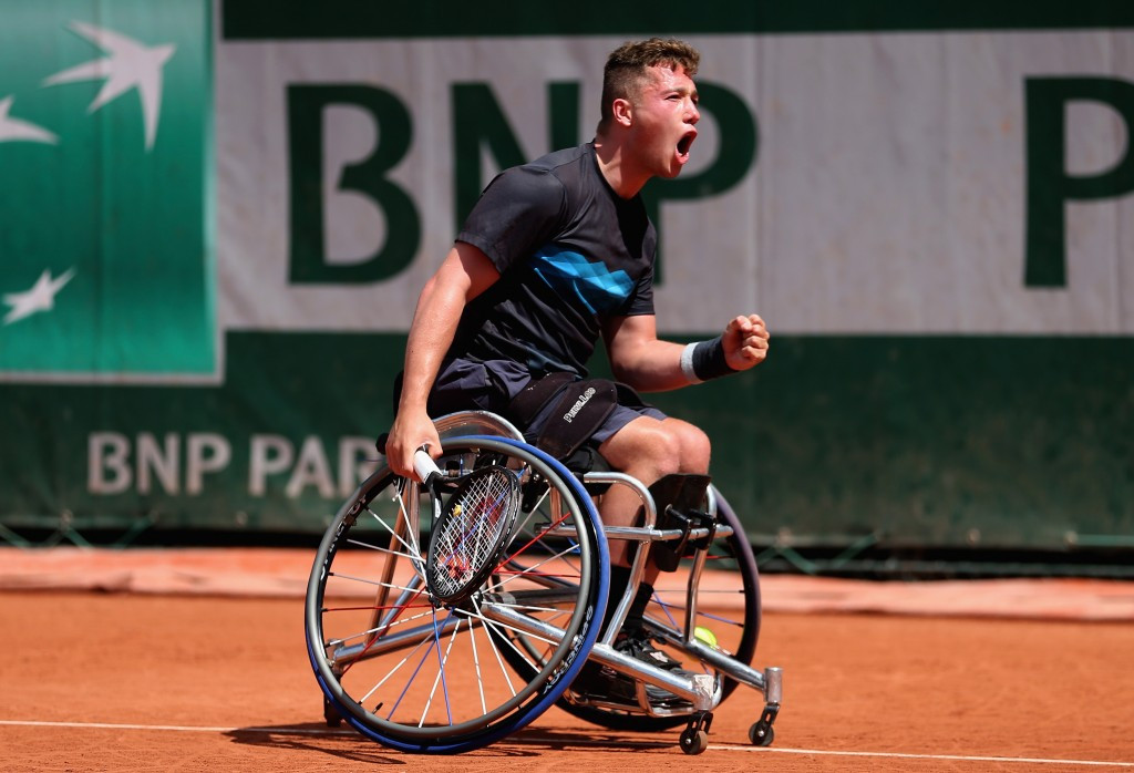 Alfie Hewett earned his maiden Grand Slam title last month ©Getty Images