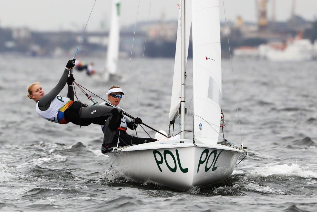 Polish pair retain lead at 470 World Championships