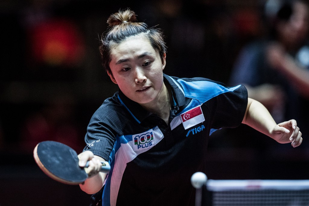 Feng Tianwei is among the nominees for the Sportswoman of the Year Award ©Getty Images