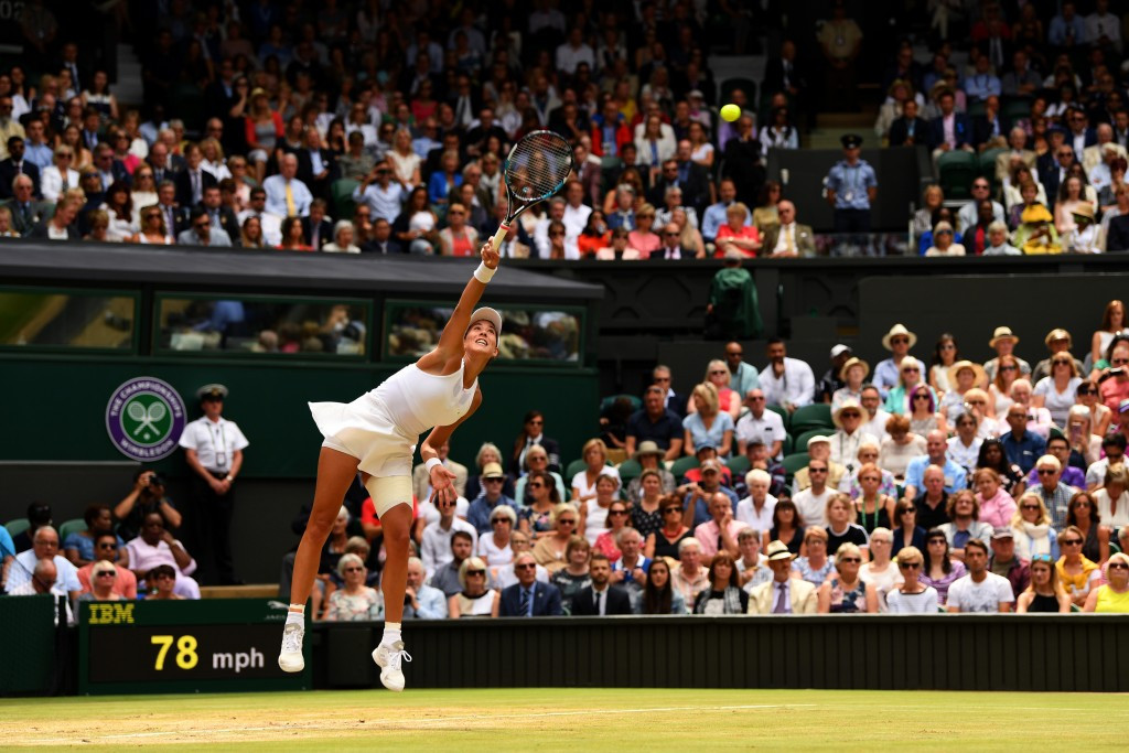 Spain's Garbine Muguruza is also through to the final ©Getty Images