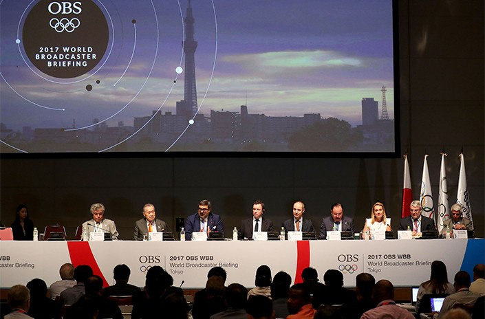 OBS welcomes Tokyo 2020 Rights Holding Broadcasters to host city