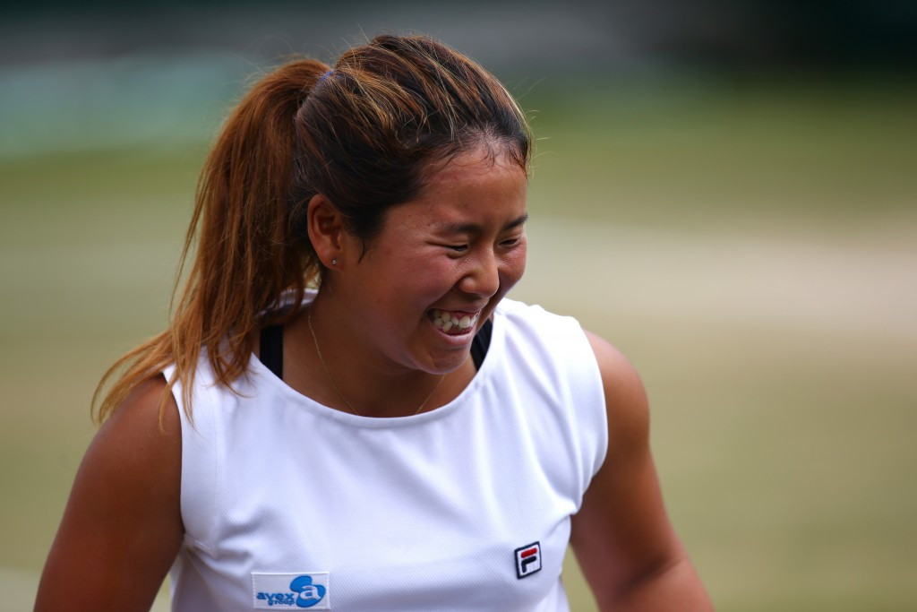 Yui Kamiji, pictured, was victorious today ©Getty Images