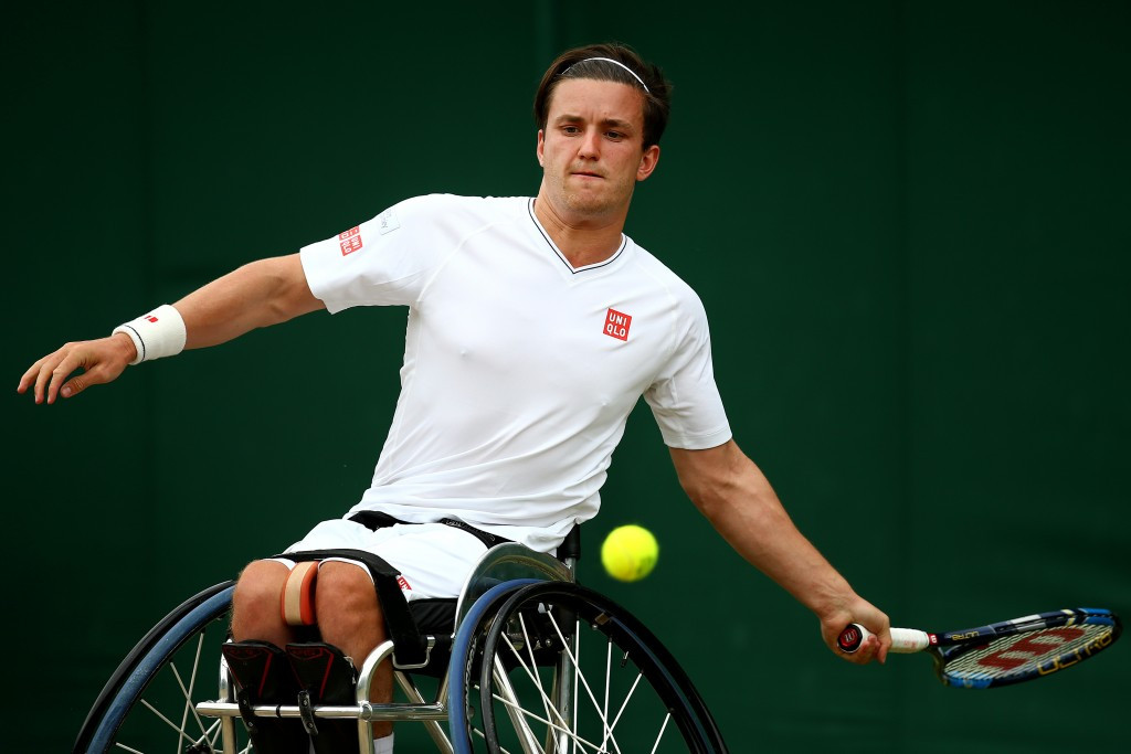 Reid's title defence ends in round one at Wimbledon