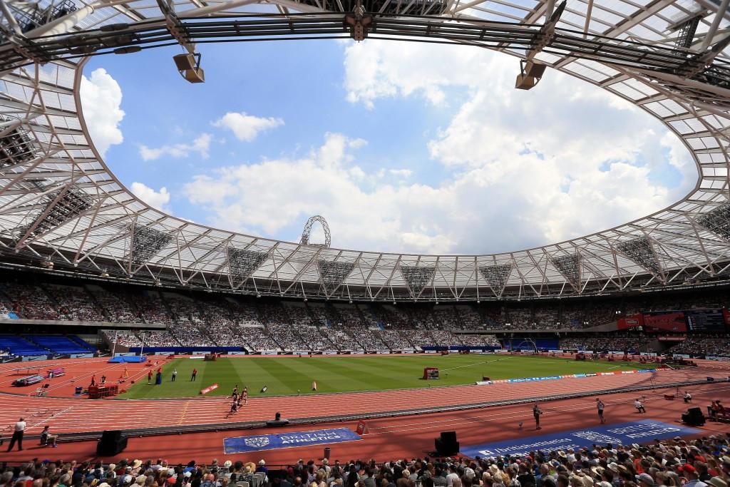 The London Olympic Stadium is hosting the 2017 World Para Athletics Championships ©London 2017