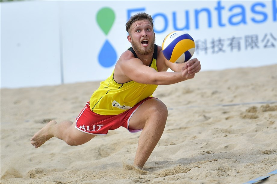 Lucky losers top main draw pool at FIVB Under-21 Beach World Championships
