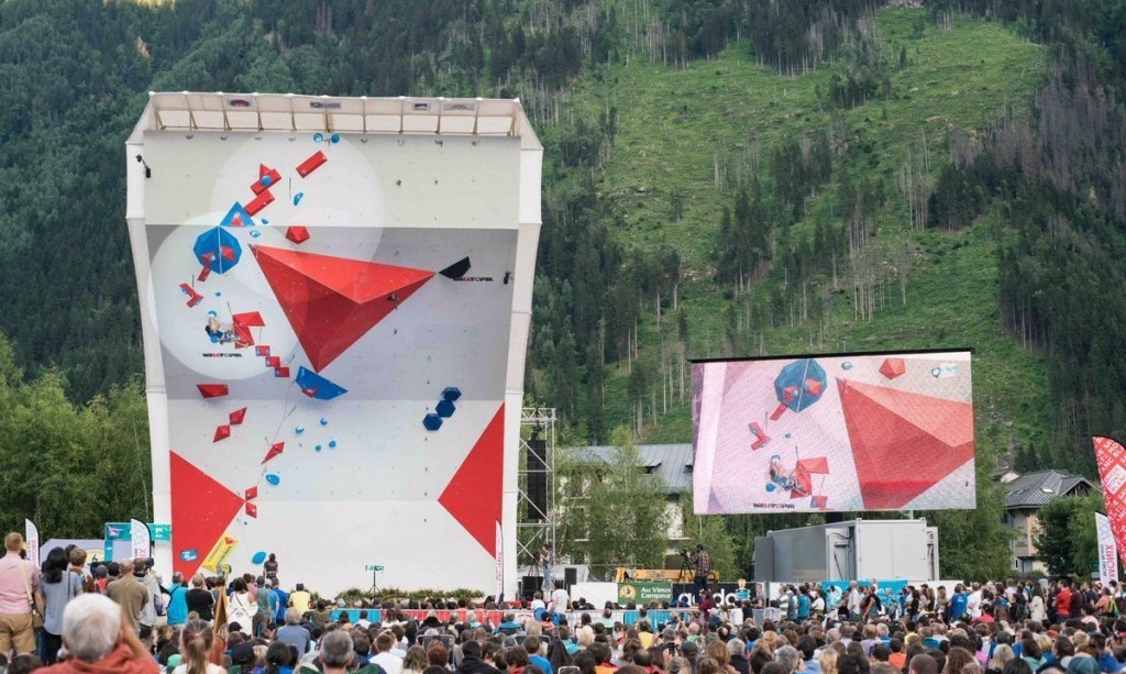 Bombardi and Garnbret triumph at IFSC World Cup in Chamonix
