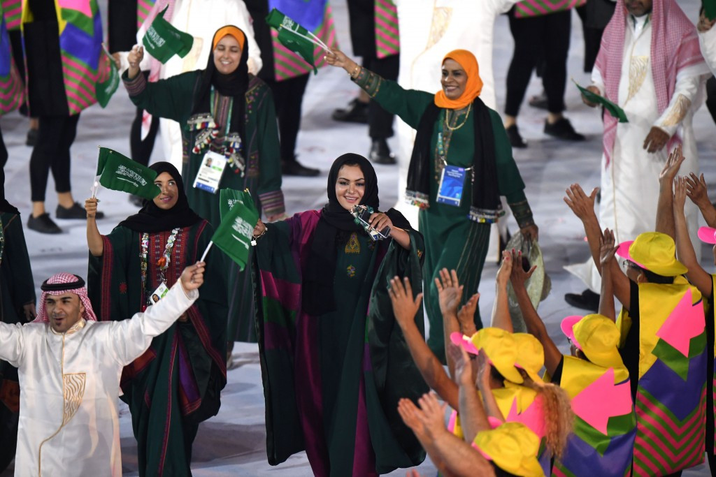 Saudi Arabia have already allowed women to compete at the last two editions of the Summer Olympic Games ©Getty Images