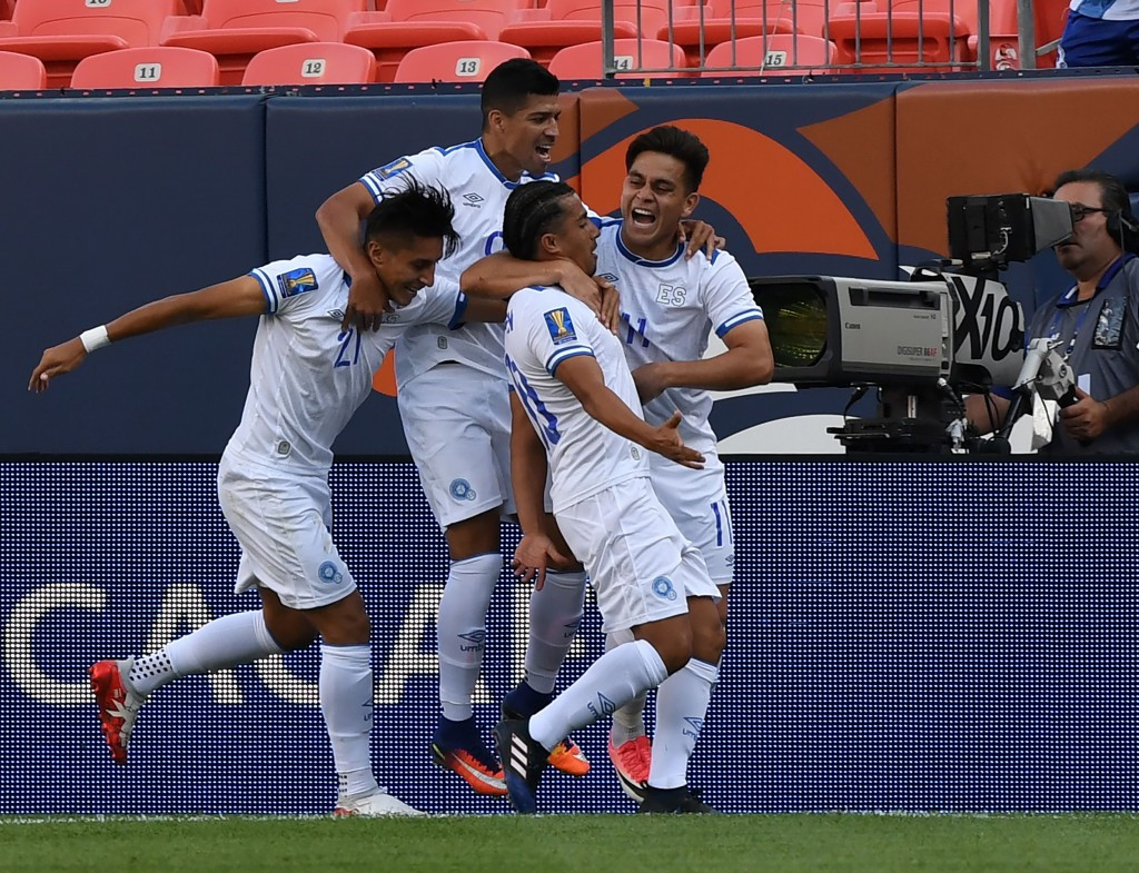 El Salvador overcame Curacao 2-0 ©Getty Images