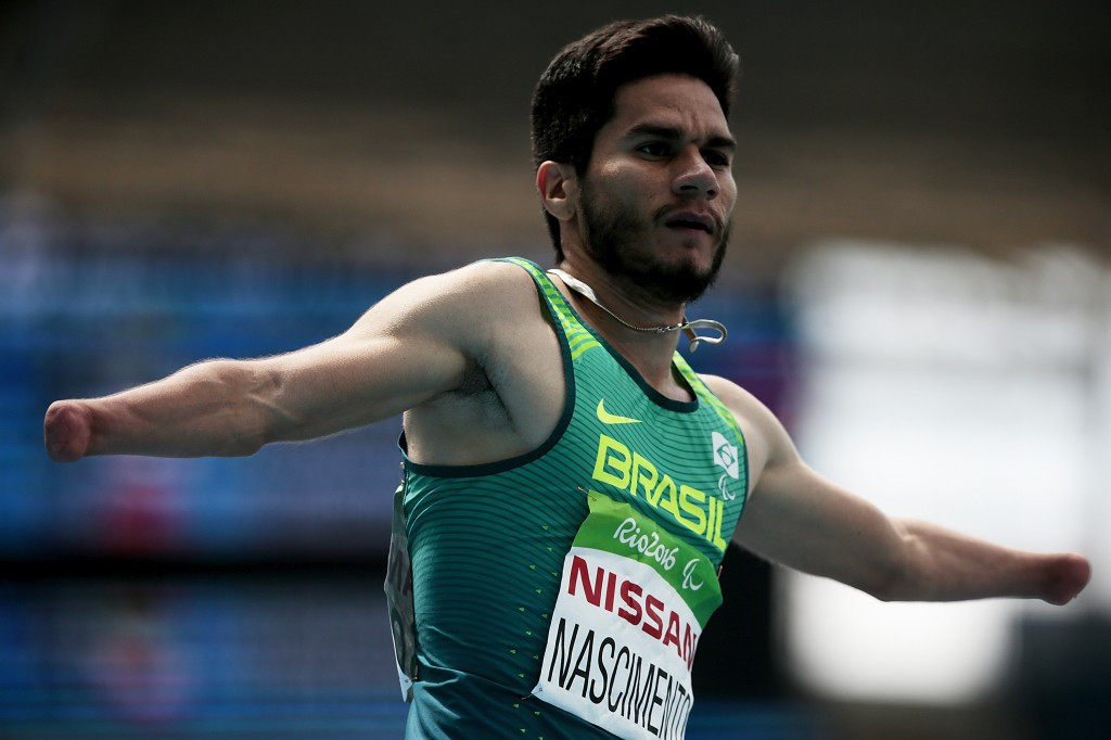 SporTV viewers will be able to show their support for the likes of Brazil's five-time Paralympic medallist Yohansson Nascimento ©Getty Images