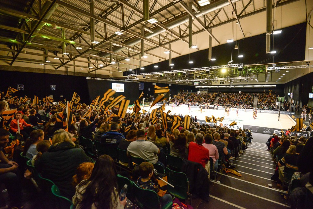 The Ericsson Indoor Arena would host netball competition ©Birmingham 2022