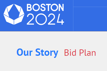 Full details of Boston's initial bid plans last year have been released to the US public ©Boston 2024
