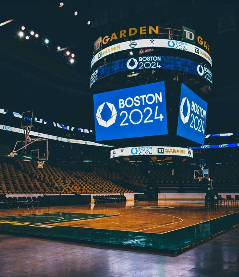 Boston 2024 plans to hold events in iconic locations like TD Garden if its bid to host the Olympics and Paralympics is successful, but it has failed to win local support