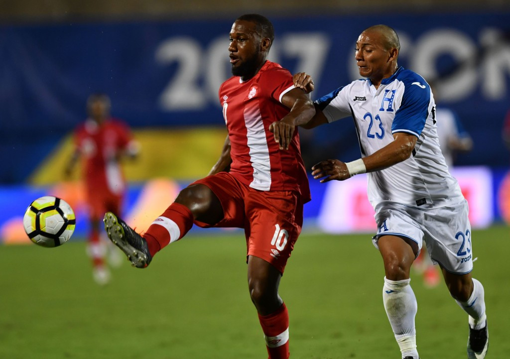 Canada drew 0-0 with Honduras to clinch a spot in the quarter-finals for the first time since 2009 ©Getty Images
