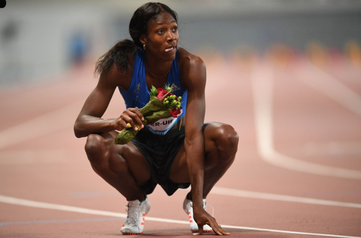 Olympic 400m champion Shaunae Miller-Uibo of The Bahamas will face 800m specialist Caster Semenya over one lap in tomorrow's IAAF Diamond League meeting in Rabat ©Getty Images