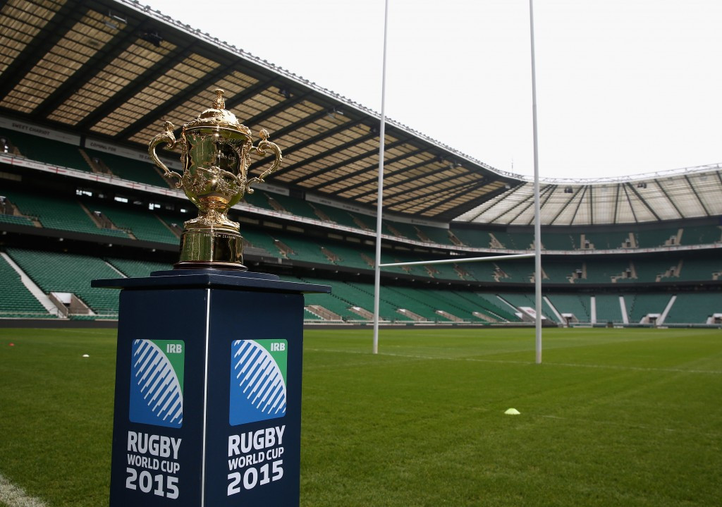 The 2015 Rugby World Cup is set to be the biggest of its kind to date ©Getty Images