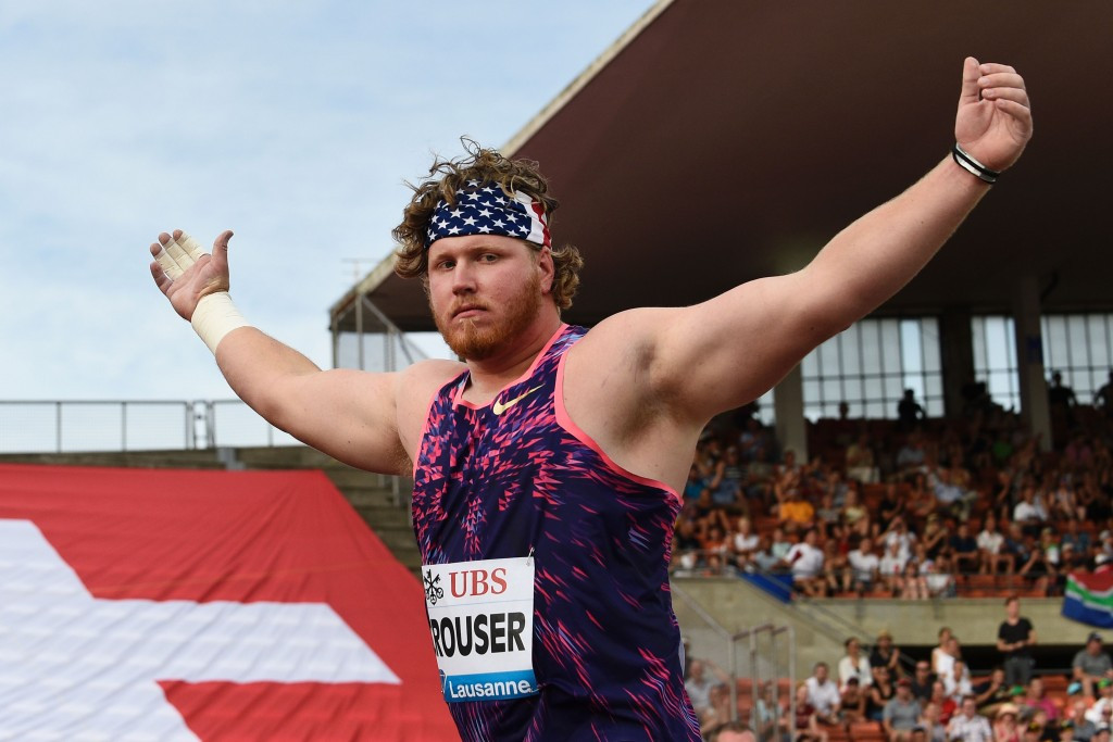 America's Ryan Crouser will be looking to maintain his superb shot put form ©Getty Images