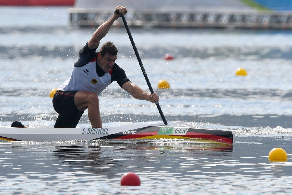 Germany's Sebastian Brendel produced the fastest time in the men's C1 1,000m heats ©Getty Images