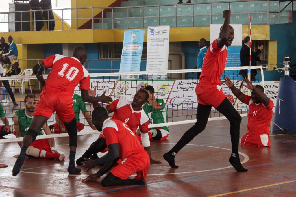 Hosts Rwanda among countries with 100 per cent records at ParaVolley Africa Sitting Volleyball Championships