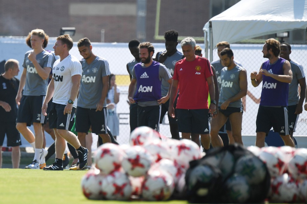 Manchester United are preparing for the upcoming season at UCLA ©Getty Images