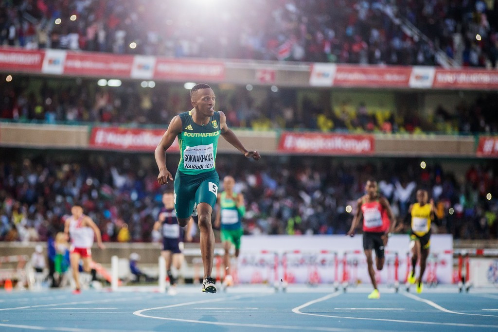 South Africa celebrate 400 metres hurdles double at World Under-18 Athletics Championships