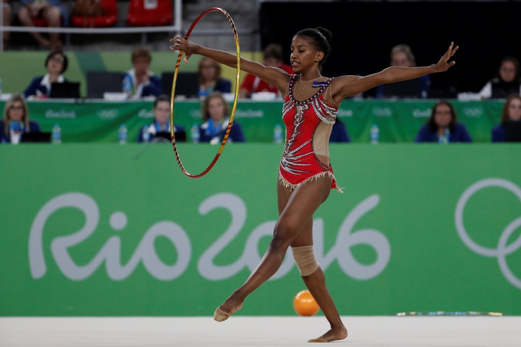 Cape Verde's Elyane Boal was one of the country's five-strong Rio 2016 team ©Getty Images