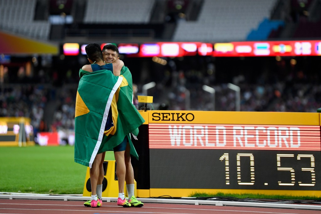 Stunning victory for Ferreira dos Santos as hosts claim five golds at World Para Athletics Championships