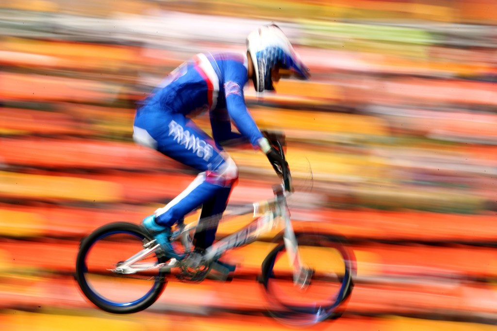 Daudet and Smulders win elite titles at UEC BMX Championships