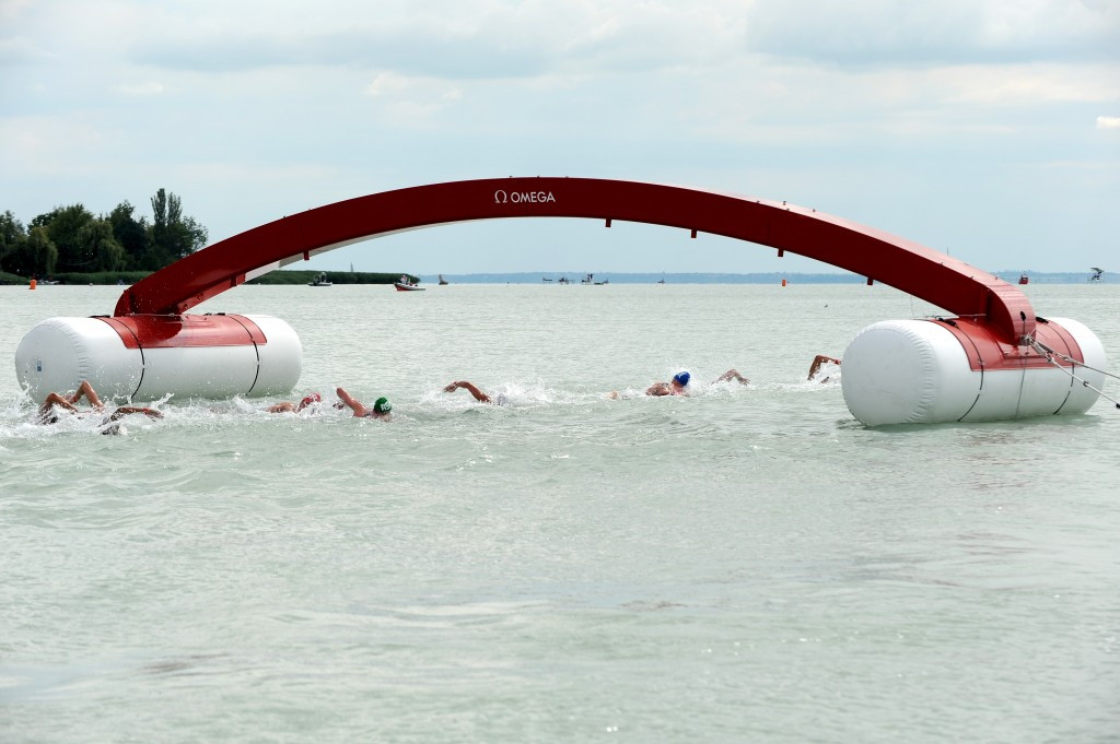 Omega has implemented new technology during the open water swimming events at the World Aquatics Championships ©FINA