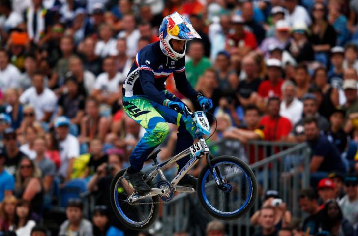 France's Joris Daudet claimed the elite men's time trial title
