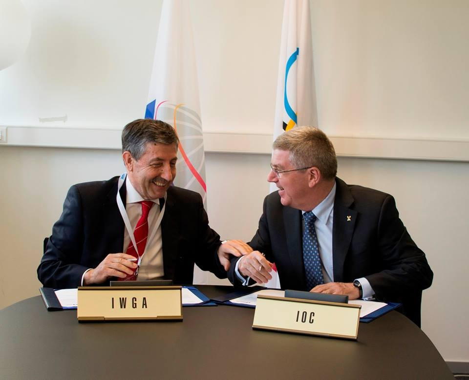Close ties have been forged with the International Olympic Committee and Thomas Bach ©IWGA