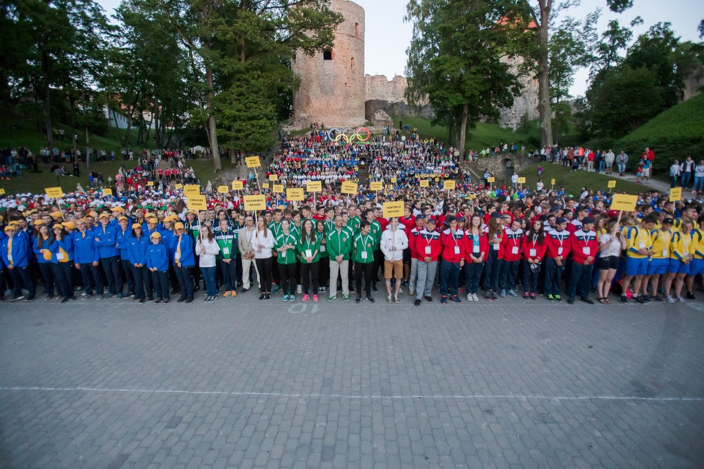 Nearly 3,000 compete at Youth Olympiad in Latvia